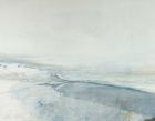 Sea Ice, Hornsund Fjord, Svalbard 87x111cm watercolour